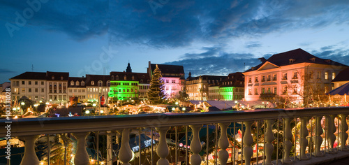 Landau Weihnachtsmarkt.Weihnachtsmarkt Landau Buy This Stock Photo And Explore