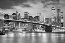 Manhattan And Brooklyn Bridge ...