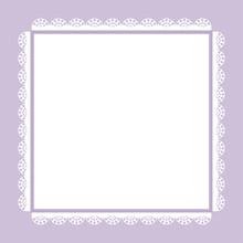 Vintage Frame, Greeting Card