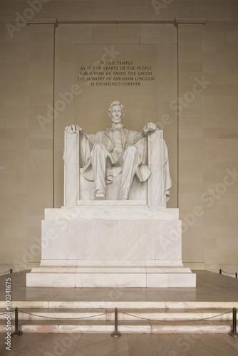 Foto  Lincoln Memorial tilt-shift, Washington, D