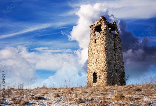 Fotografija old watchtower