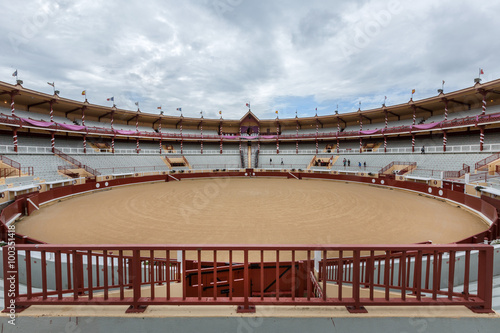 Photo Stands Bullfighting Arène de Bayonne