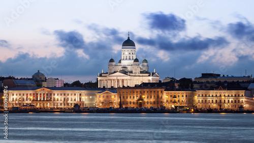 Helsinki Skyline Canvas Print