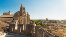 View From Papal Palace In Avignon, France.