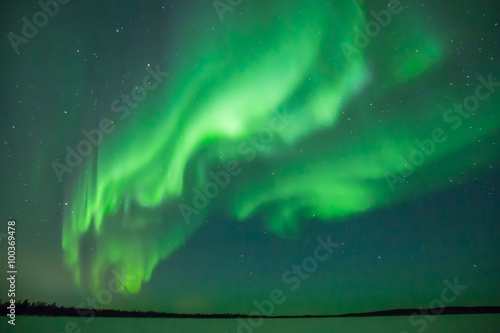 Recess Fitting Northern lights Aurora Borealis