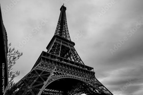 Deurstickers Eiffeltoren Eiffel Tower