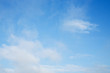 fluffy cloud above blue sky background