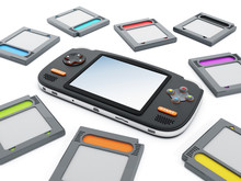 Handheld Video Game Device And...