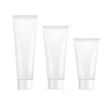 Tube For Cream Mock Up Set. Ve...