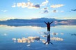 Leinwandbild Motiv ウユニ塩湖