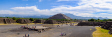 Panoramic View Of Pyramid Of T...
