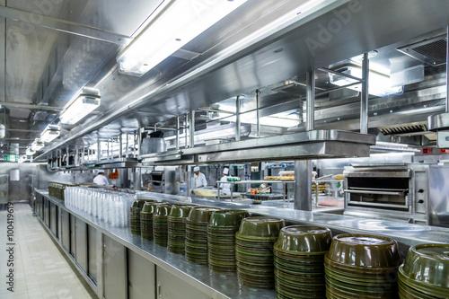 Fotografie, Obraz  Serving Domes in Commercial Kitchen