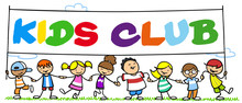 Gruppe Kinder Im Kids Club