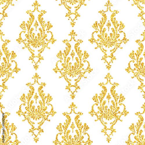 wektor-zloty-brokat-adamaszku-kwiatowy-wzor-zloty-blyszczy-na-bialym-tle-szablon-projektu-vip