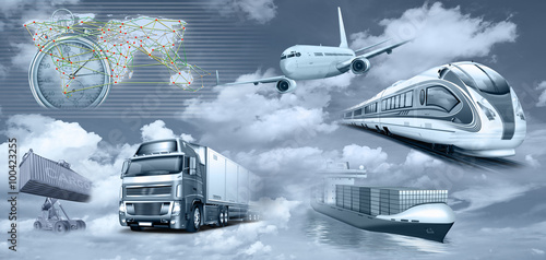 Transport, Logistik, Personenverkehr, Frachtverkehr - 100423255