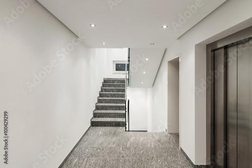 Fotografia, Obraz corridor of a modern apartment building