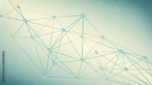 futuristic techno shape polygon background