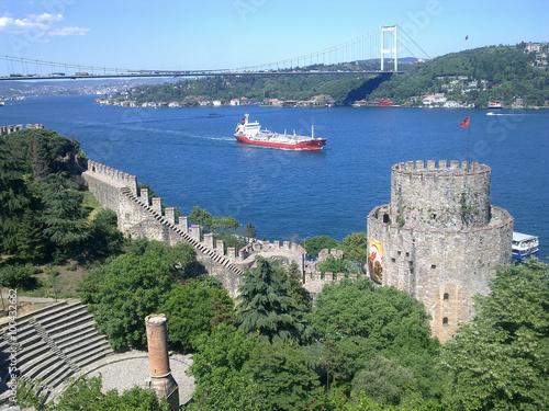 Papiers peints Fortification Rumeli Hisarı Fortress - İstanbul