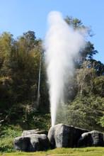 Hot Springs At Fang National Park, Chiang Mai, Thailand