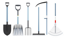 Set Of Tools For Agriculture. ...