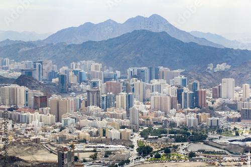 Modern part of Mecca