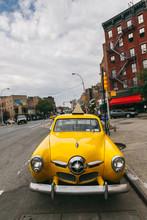 1950 Studebaker Parked In Manhattan Streets