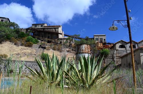 Miniera abbandonata di Montevecchio - Sardegna Wallpaper Mural