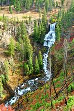 Undine Falls Yellowstone National Park