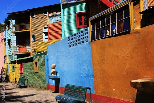 obraz lub plakat La Boca Coloured Houses
