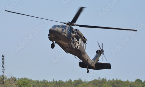 Tuinposter Helicopter UH-60 Blackhawk Helicopter
