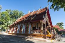 Beautiful Temple In Nan,Thailand