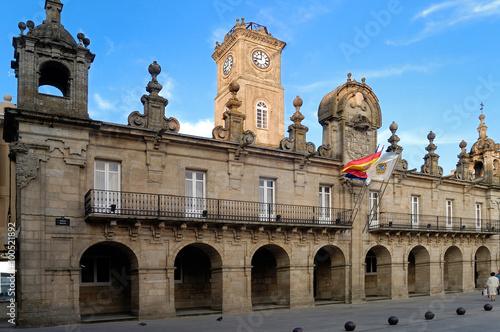 main Square and City Council, Lugo,Galicia, Spain