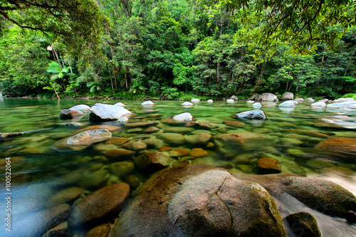 In de dag Australië Mossman River, Daintree National Park, Queensland, Australia