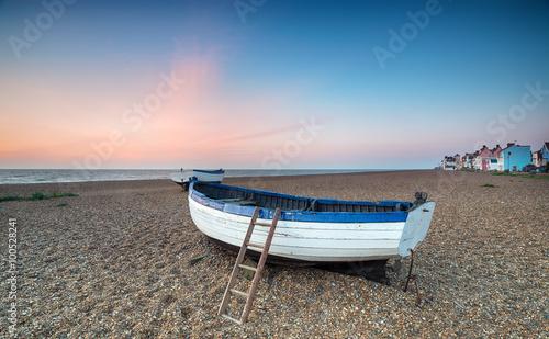 Fotografia Sunrise over Fishing Boats at Aldeburgh
