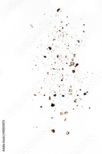 Fototapeta Sifting black pepper obraz