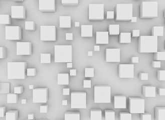 Fototapeta Cubes abstract grid background