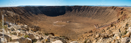 Fotografie, Tablou Meteor crater, Arizona