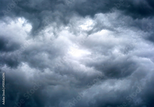Fotobehang Hemel Dramatic Cloudscape Background