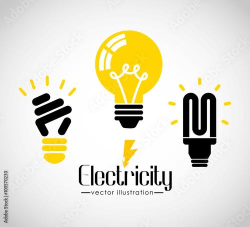 Foto electricity concept design