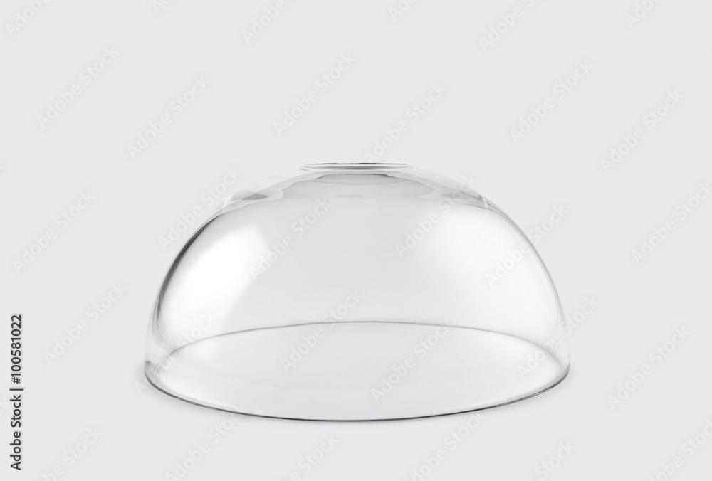 Fototapety, obrazy: Empty transparent glass dome