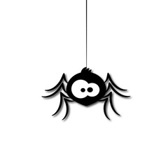 Fototapeta funny spider cartoon