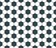 Seamless Football Star Pattern...