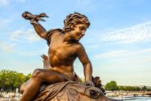 Sculpture On Alexandre III Bri...