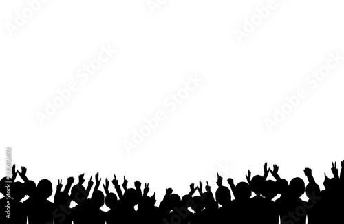 観客 Fotobehang