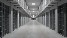 Rows Of Prison Cells, Prison I...