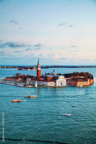 Aerial view of Venice, Italy Canvas-taulu