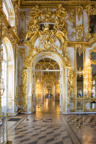 Foto  Interior of Catherine palace