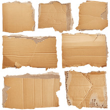 Set Of Pieces Of Cardboard