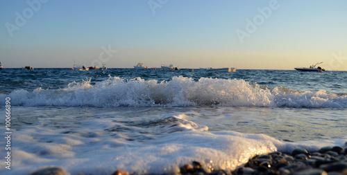 Obraz na plátně  Onde - Bova Reggio Calabria