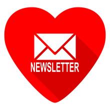 Newsletter Red Heart Valentine...